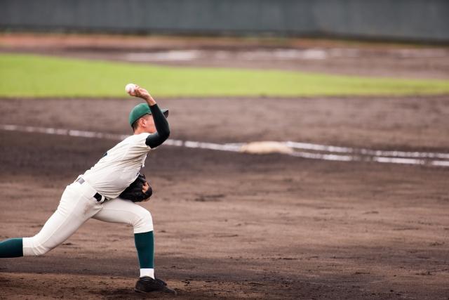 野球投球のイメージ